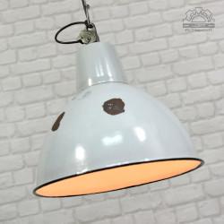 Duża lampa industrialna OBg-4 z lat 60'