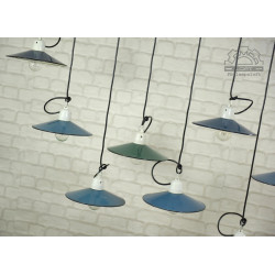 Lampy talerzykowe z lat 60'