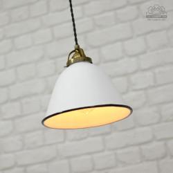 Lampa industrialna z lat 30'