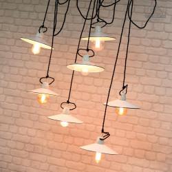 Lampa talerzykowa z lat 60'