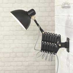 Lampa nożycowa VEB Zweckleuchtenbau Dresden