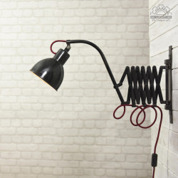 Lampa nożycowa z lat 30'