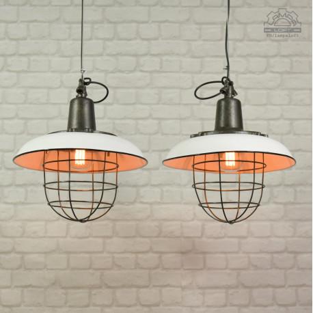Lampa industrialna OZż-1 z lat 60'