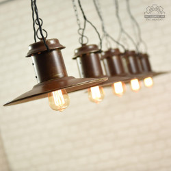 Soviet industrial lamp from the 1960s