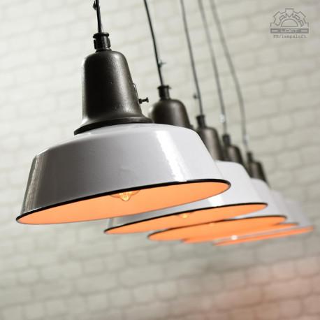 Lampy industrialne OŻb-1 z lat 50'
