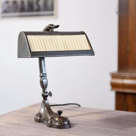 Lampa biurkowa secesja