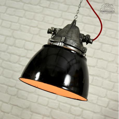 Lampa industrialna Elektrosvit z lat 70'