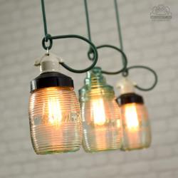Radzieckie lampy industrialne z lat 70'