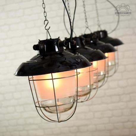 Lampy industrialne Elektrosvit z lat 60'