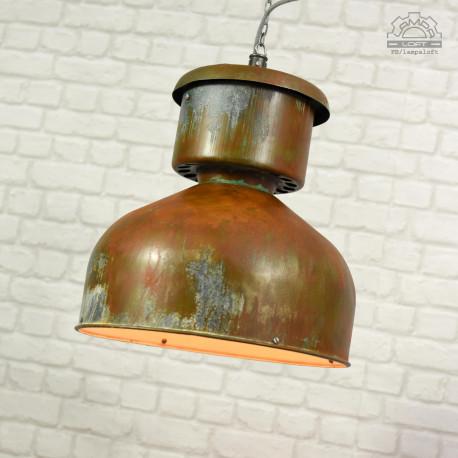 Lampa industrialna ORZ-1 z lat 60'