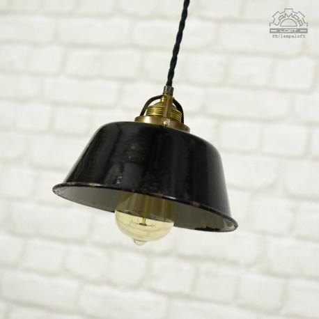 Niemiecka lampa emaliowana z lat 30'