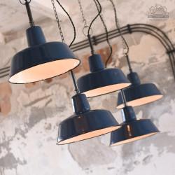 Lampa industrialna OB-2 z lat 50'