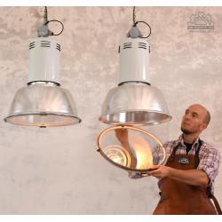 Lampy industrialne SIEMENS z lat 70'
