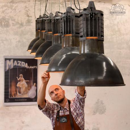 Lampy industrialne MAZDA z lat 50'