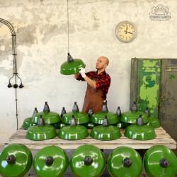 Bulgarian enameled lamps in the 67'