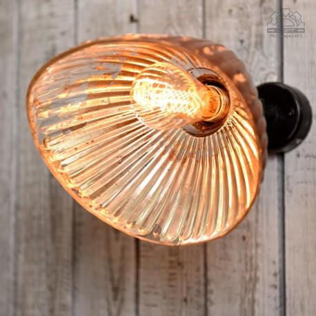 Czechosłowacka lampa lustrzana z lat 50'