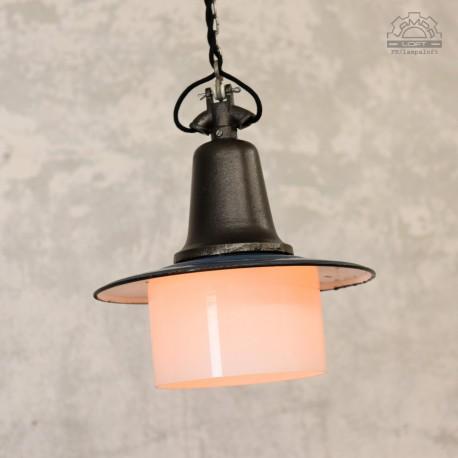 Lampa industrialna OŻk-1 z lat 50'