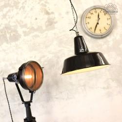 Lampa industrialna OBs-3 z lat 60'