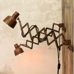Lampy nożycowe z lat 70'