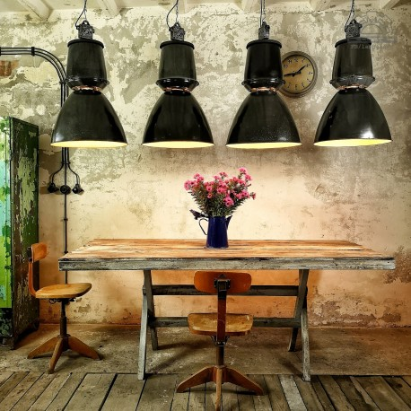 Lampy industrialne emaliowane Elektrosvit