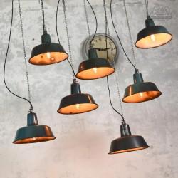 Lampy industrialne OBs-2 z lat 60'