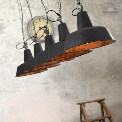 Lampy industrialne OBs-3 z lat 60'