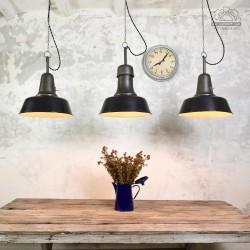 Lampy industrialne OŻb-2 i OŻb-3 z lat 50'