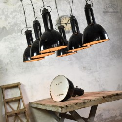 Lampy emaliowane Elektrosvit z lat 70'