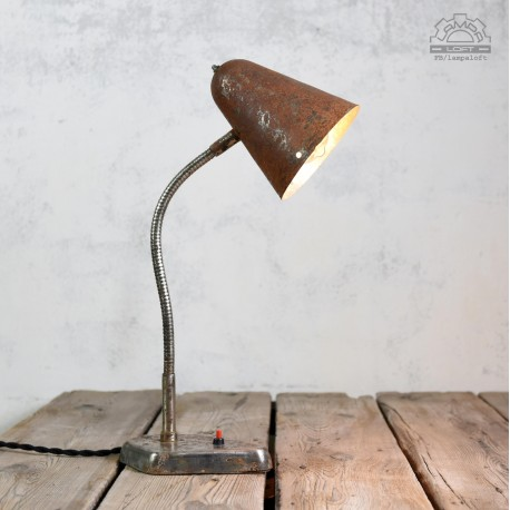 Lampa biurkowa z lat 60'