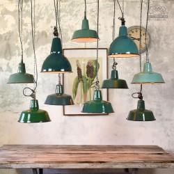 Lampy industrialne z lat 50/70'