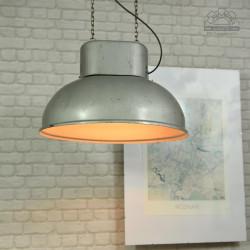 lampa industrialna ORP-2-1 z lat 70