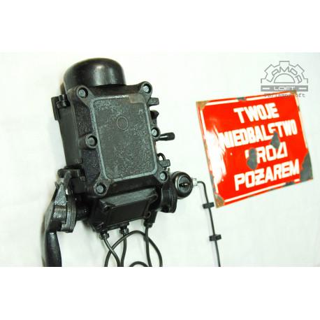 Telefon industrialny z kopalni + tablica emaliowana