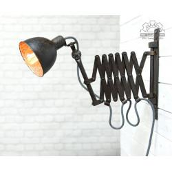 Przedwojenna lampa nożycowa